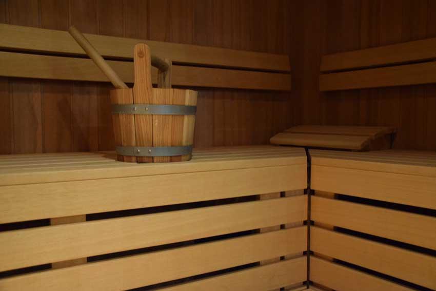 Sex in der Sauna im Swinger Urlaub